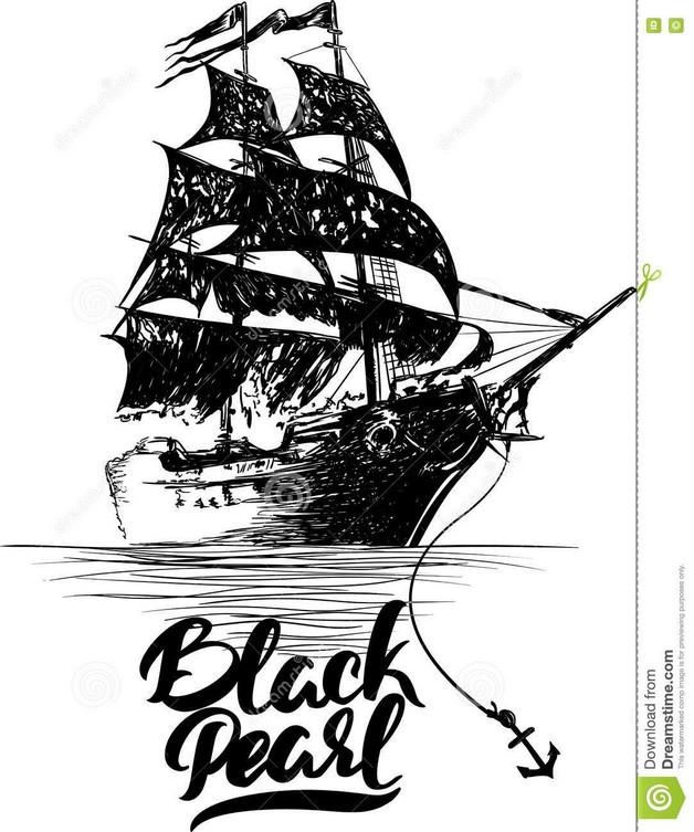 Ship Hand Tattoo Design photo - 1