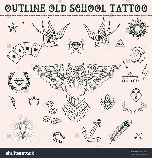 Swallow Diamond Tattoo Poster photo - 1