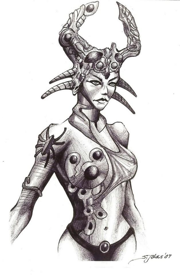 The Latest Queen Regina Tattoo Design Commission photo - 1