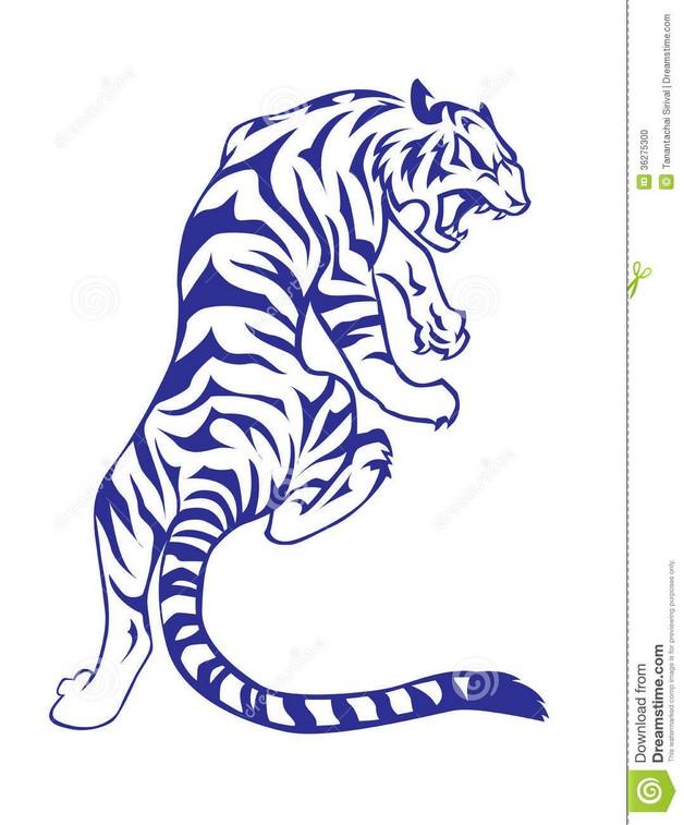 The White Tiger Tattoo photo - 1
