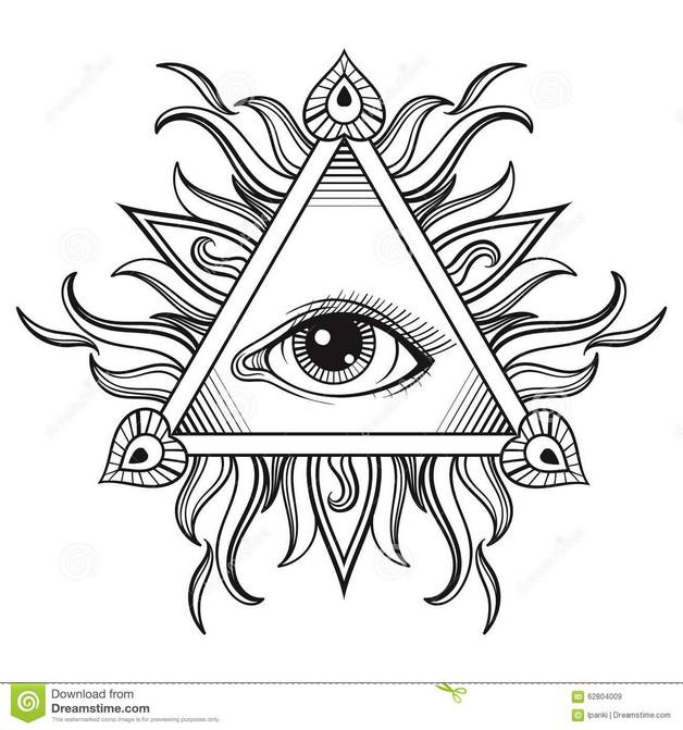 Third Eye Hand Tattoo Design photo - 1