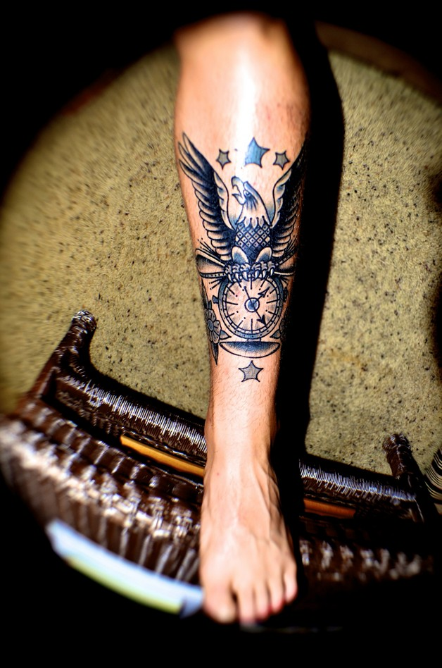 Traditional Eagle Tattoo For Men photo - 1