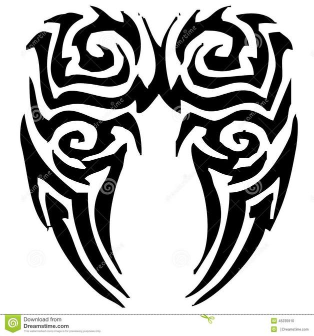 Tribal Heart Hand Tattoo photo - 1