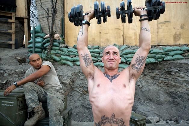 U.S. Army Biceps Tattoo photo - 1