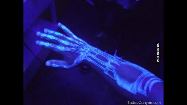 UV Diamond Tattoo Design photo - 1