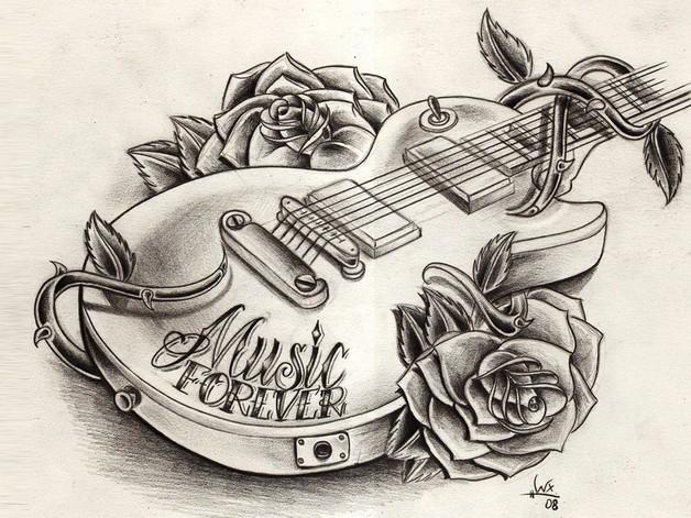 Wonderful Yin Yang Rose Tattoo Design photo - 1