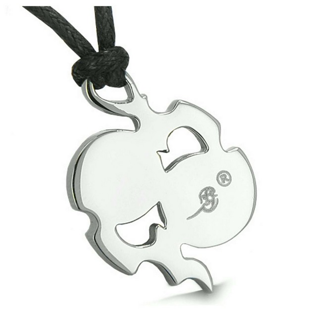 Yin Yang Symbol Necklace photo - 1