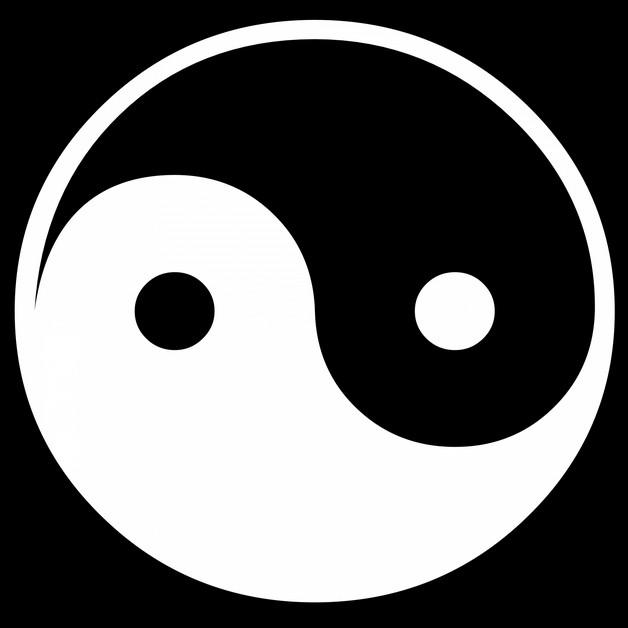 Yin yang symbol tattoo buycottarizona Choice Image