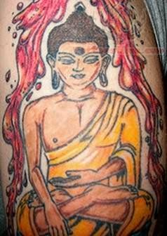 amazing buddhist tattoo picture photo - 1