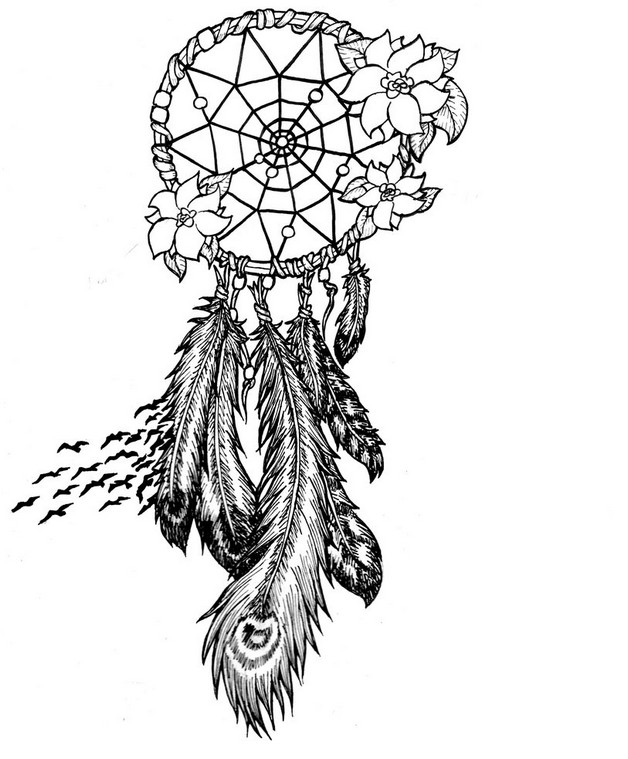 amazing dream catchers wrist tattoo photo - 1