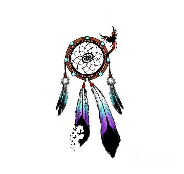 amazing dream catchers wrist tattoo photo - 2