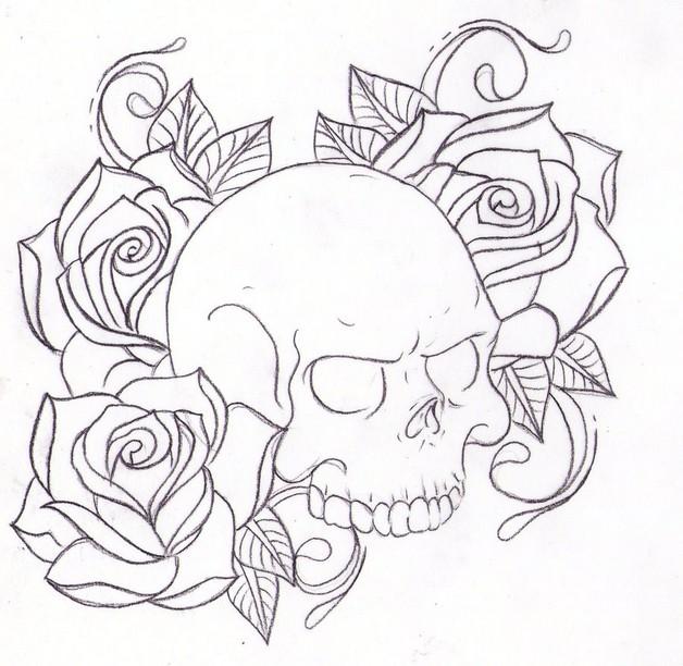 amazing flowers tattoo design photo - 2