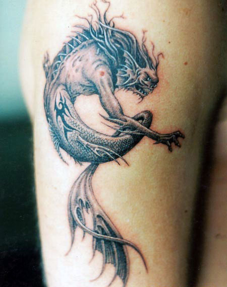 another cat tattoo design photo - 2