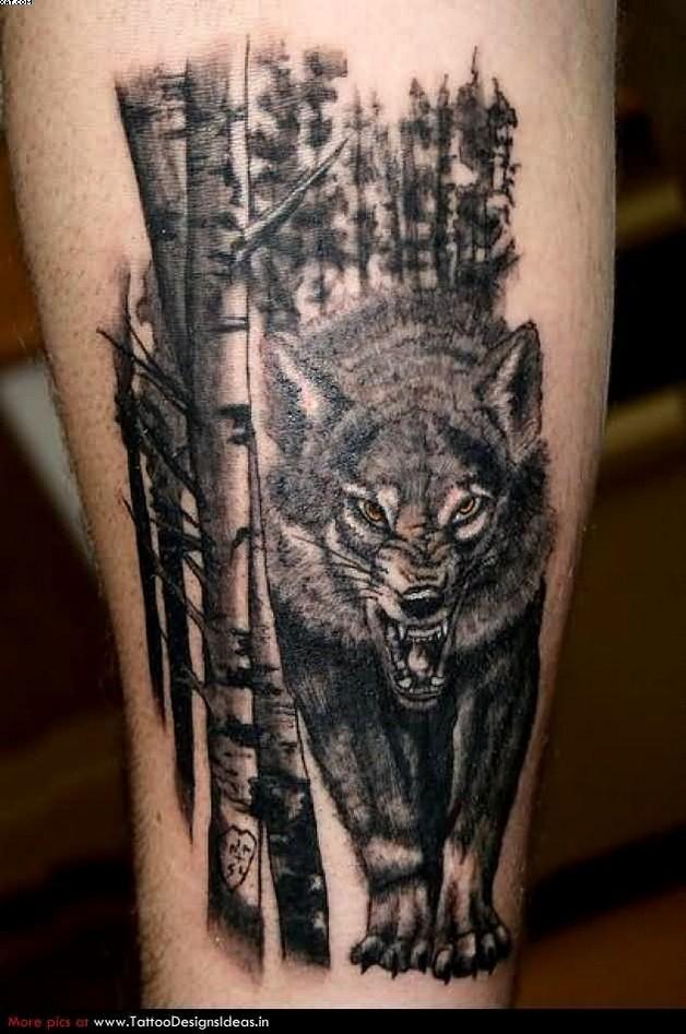 black cat tattoo on back photo - 2