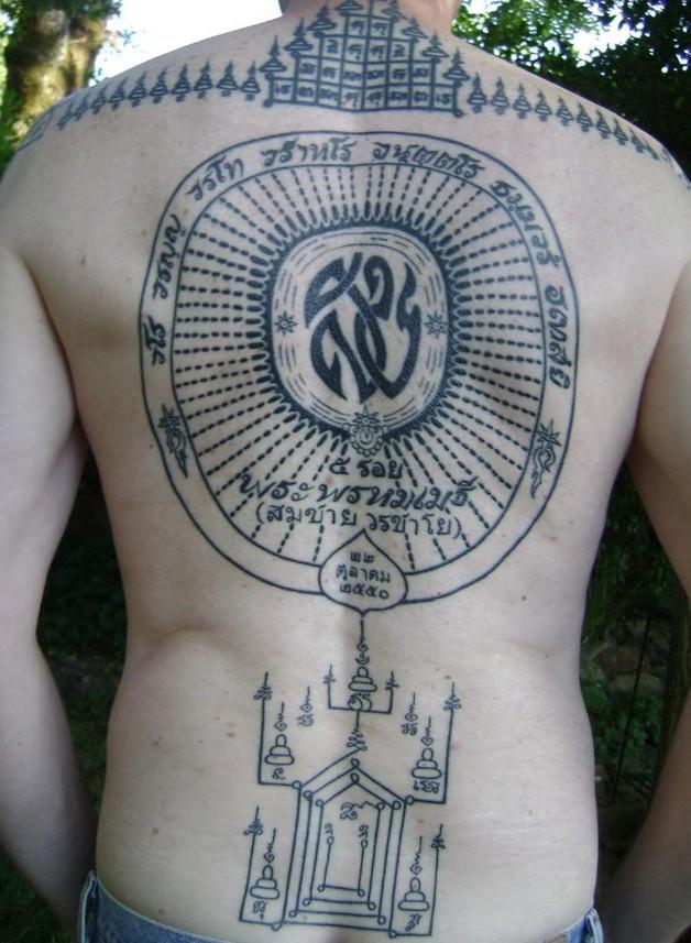 buddhist full body tattoo design photo - 2