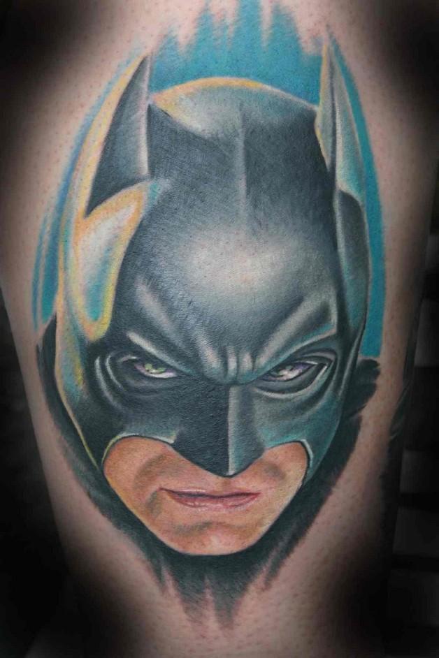 Cat woman face tattoo design for Female batman tattoos