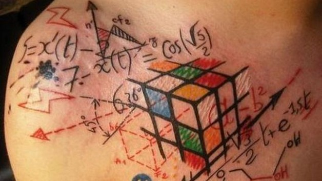 chaos star geek tattoo sample photo - 1