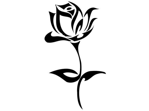 dream catcher rose tattoo design photo - 2