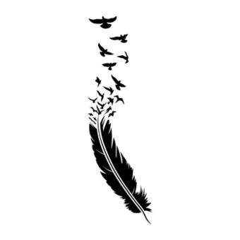Plume Oiseau Dessin