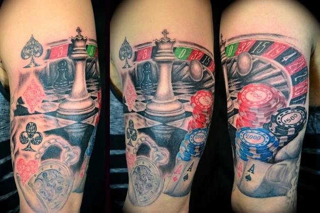 extreme sleeve tattoos photo - 1