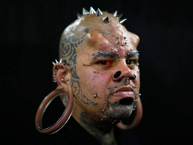 extreme tattoo art photo - 1