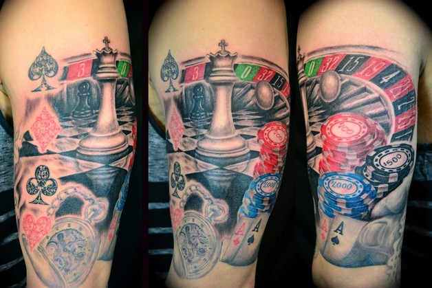 extreme tattoo designs on back photo - 1