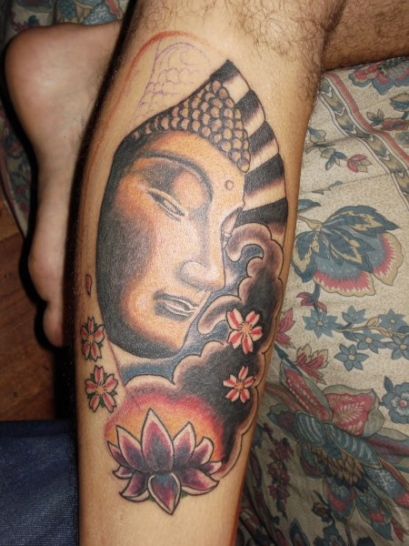 fantastic buddhist tattoo photo - 2