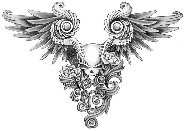 feminine lotus tattoo on back shoulder photo - 1