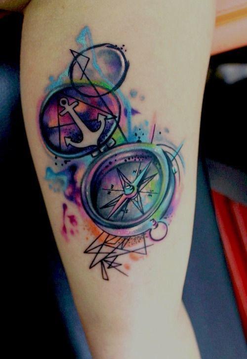 flowers n hummingbird tattoo design for girls photo - 1