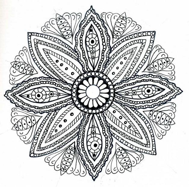 Flowers N Stars Tattoo Designs