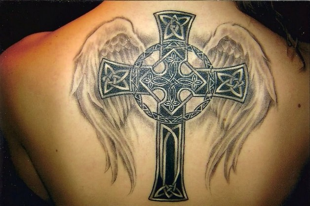 little stars eagle flower and sword tattoo designs photo - 2