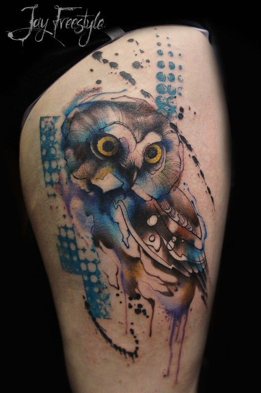 lovely watercolor dreamcatcher tattoos photo - 2