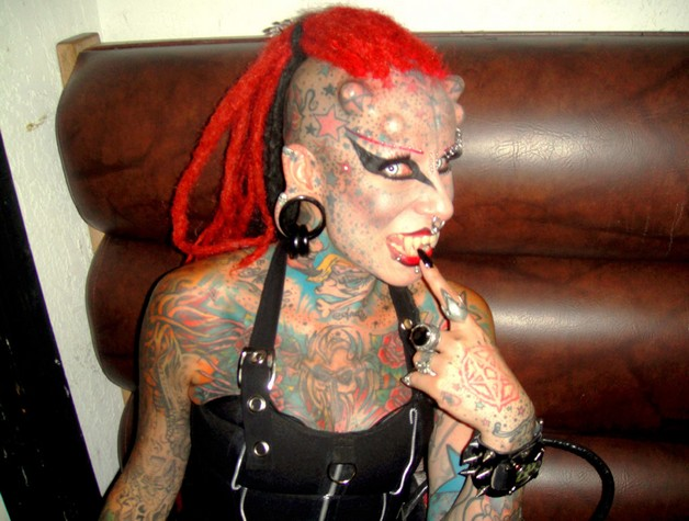 maria jose cristerna vampire extreme tattoo design photo - 1
