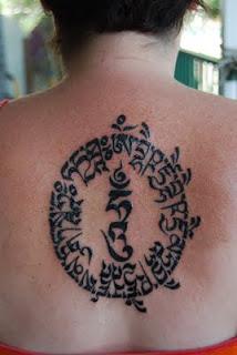 medicine buddhist mantra tattoo photo - 1