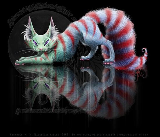 my cheshire cat tattoo design photo - 1