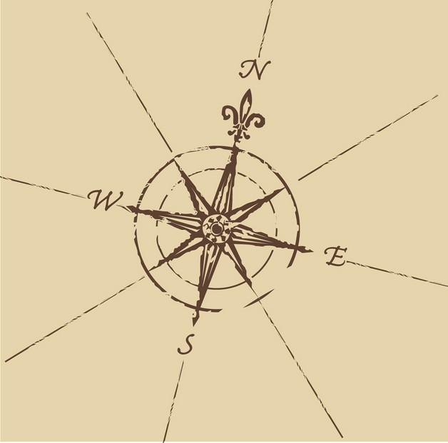 nautical star anchor tattoo sketch photo - 1