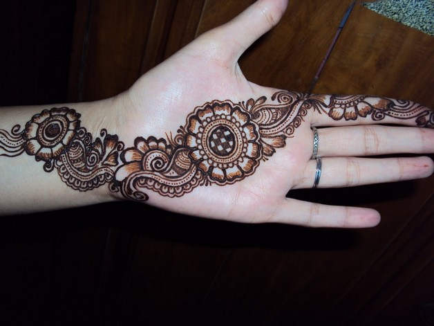nice arabic tattoo design photo - 1