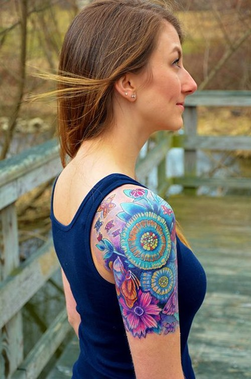 nice sun and moon tattoos with stars photo - 2