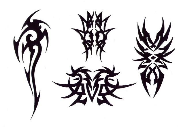 star tattoo design on hip photo - 1