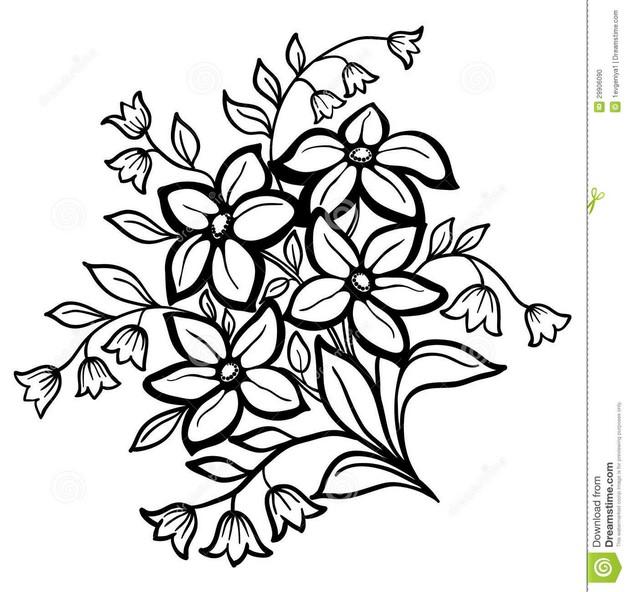 Sunflower Tattoo Drawing