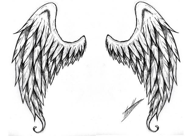 tiny stars falling from phoenix tattoo design photo - 1
